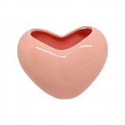 Vaso Coração em cerâmica