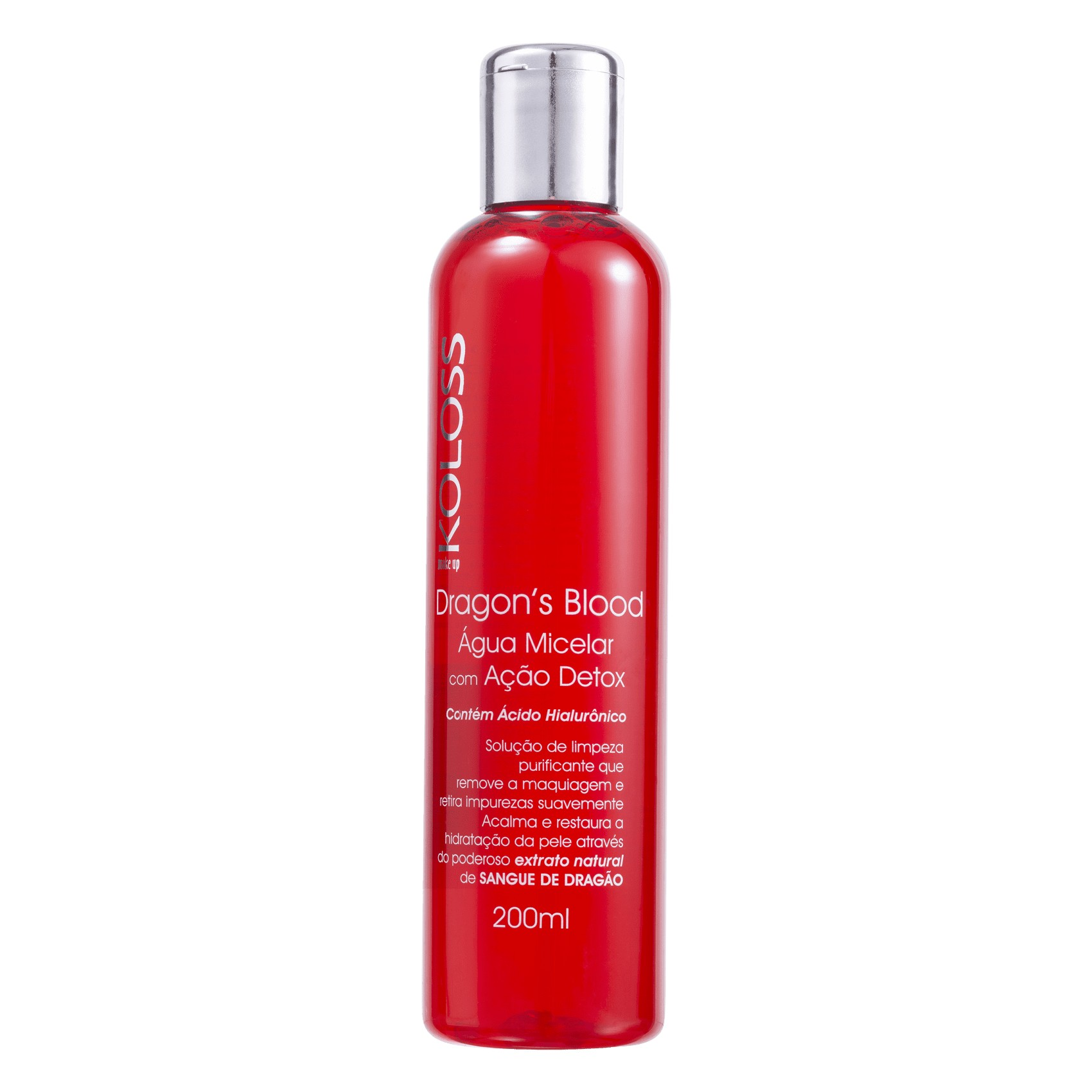 Água micelar vegana Dragon's Blood Koloss 200 ml