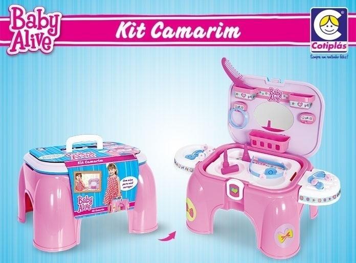 Kit Camarim Baby Alive