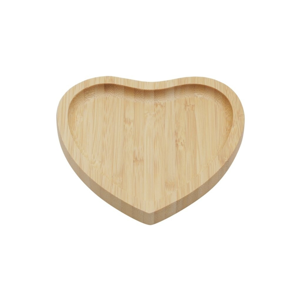 Bandeja Coração em bambu