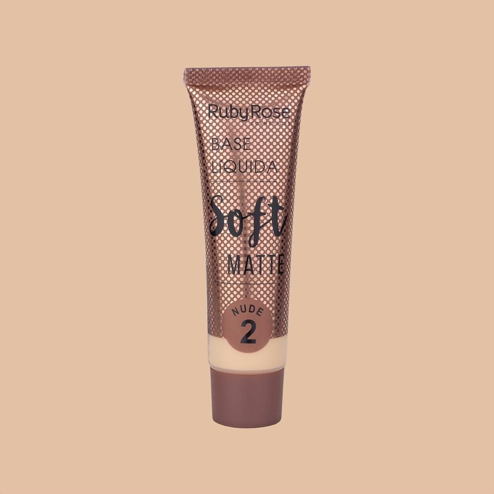 Base líquida Soft Matte Ruby Rose - nude 2