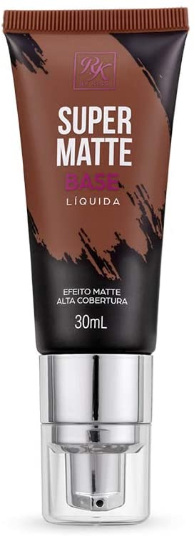 BASE LÍQUIDA SUPER MATTE RUBY KISSES CAFÉ
