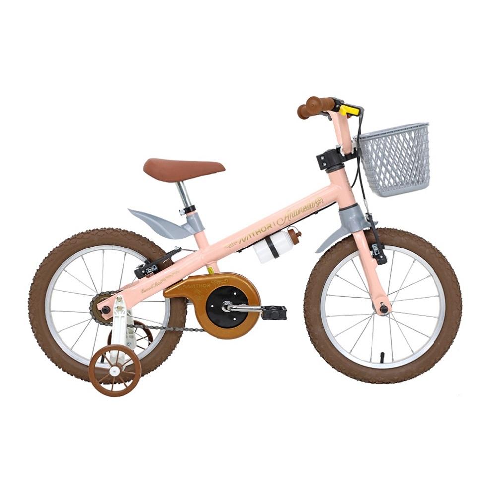 Bicicleta infantil aro 16 Antonella rosa