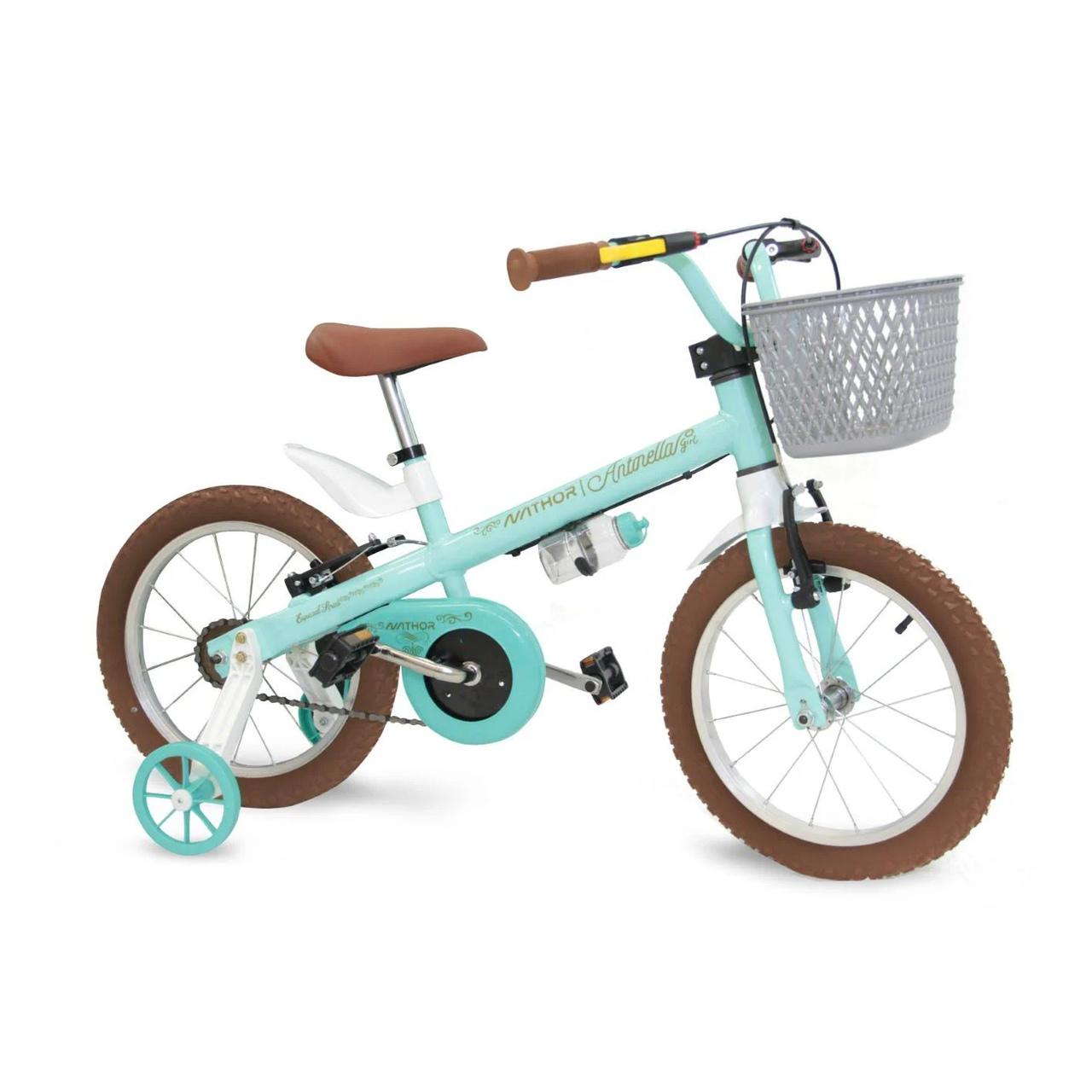 Bicicleta infantil aro 16 Antonella verde