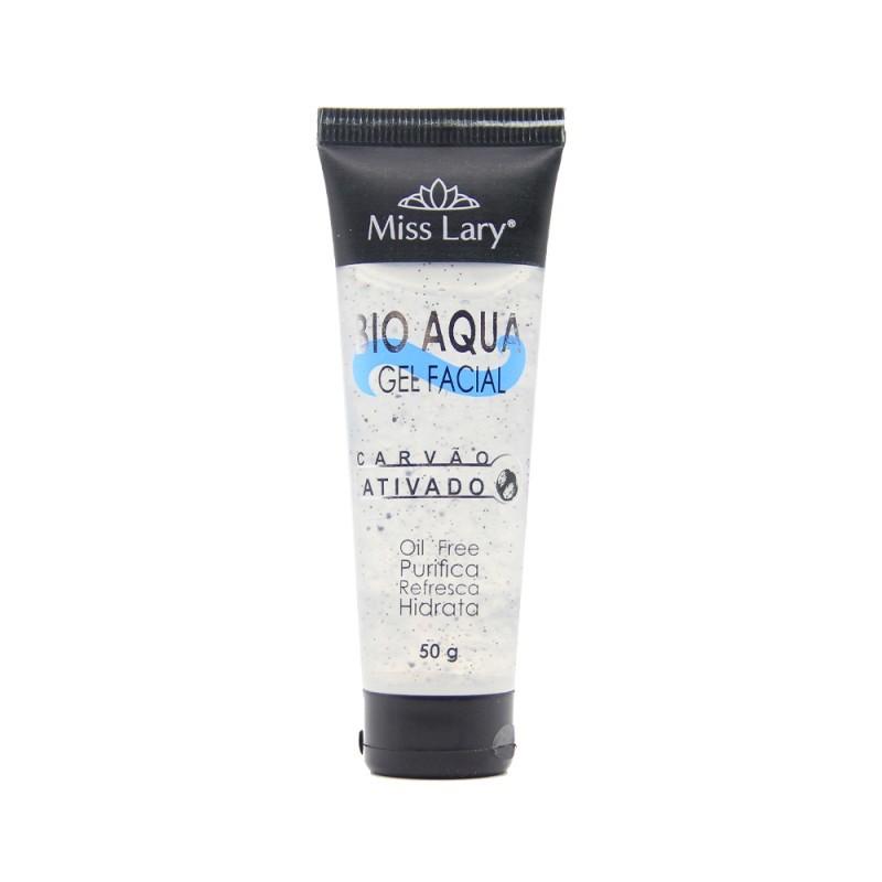 Bio Aqua gel facial carvão ativado Miss Lary