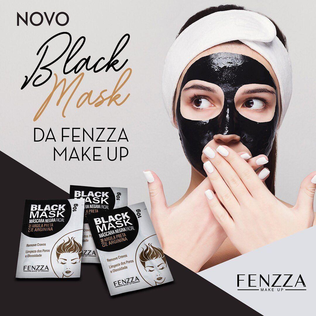 BLACK MASK - MÁSCARA REMOVEDORA DE CRAVOS FENZZA
