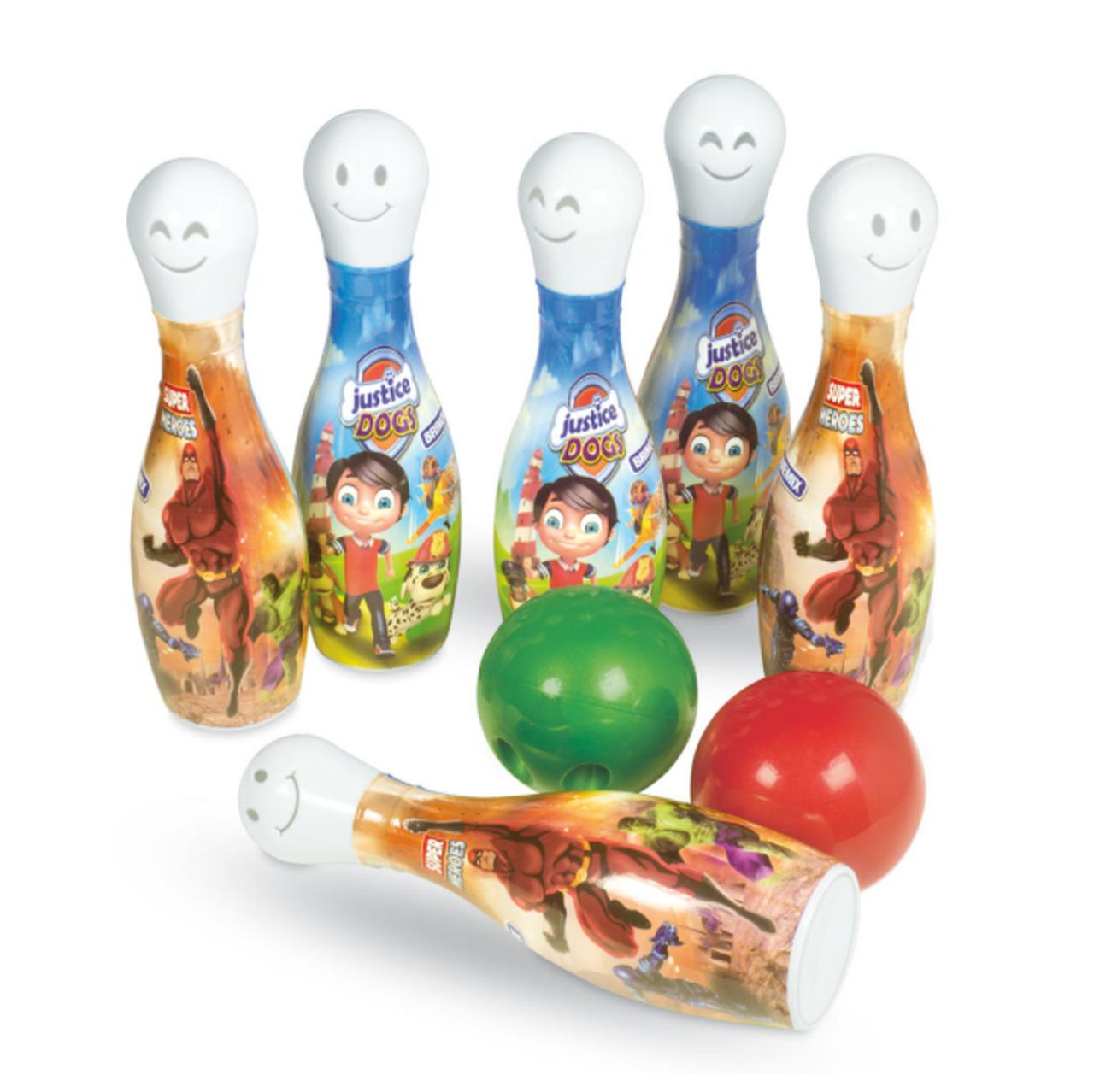Boliche Herois com 6 pinos e 2 bolas