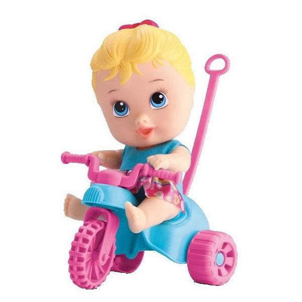 Boneca Little Dolls - Triciclo