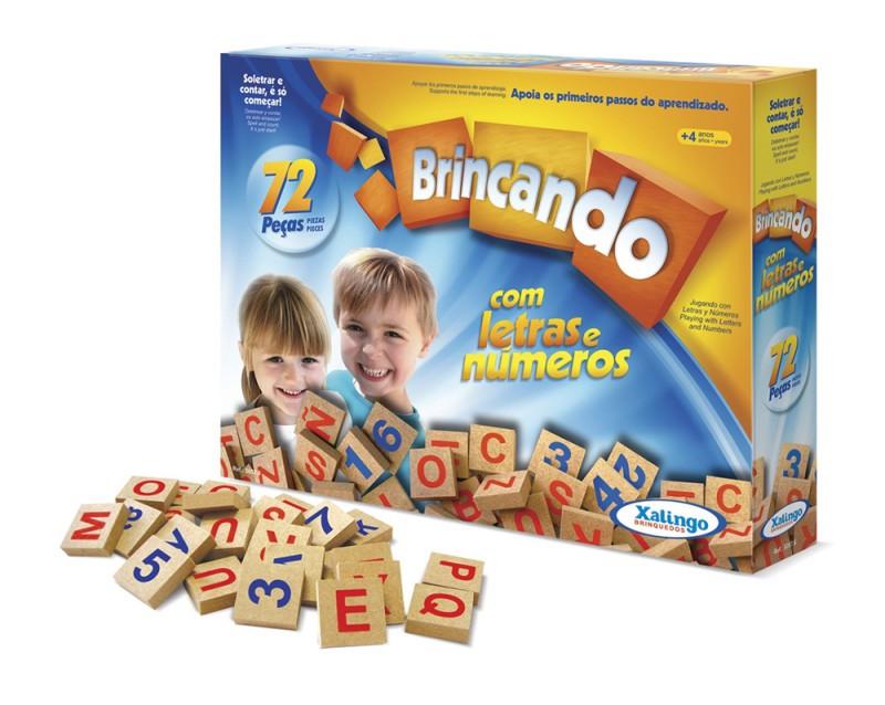 BRINCANDO COM LETRAS E NÚMEROS