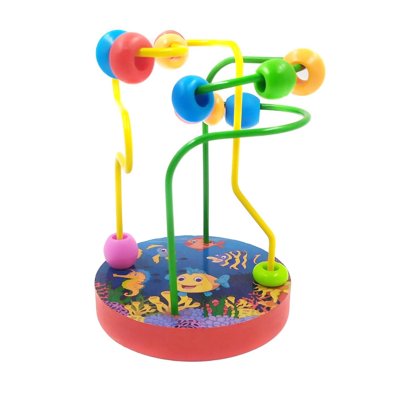 Brinquedo educativo mini montanha-russa