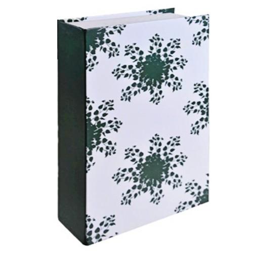 Caixa livro para ornamentação Folhagem