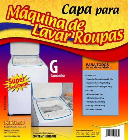 CAPA MAQUINA SUPER LUXO G