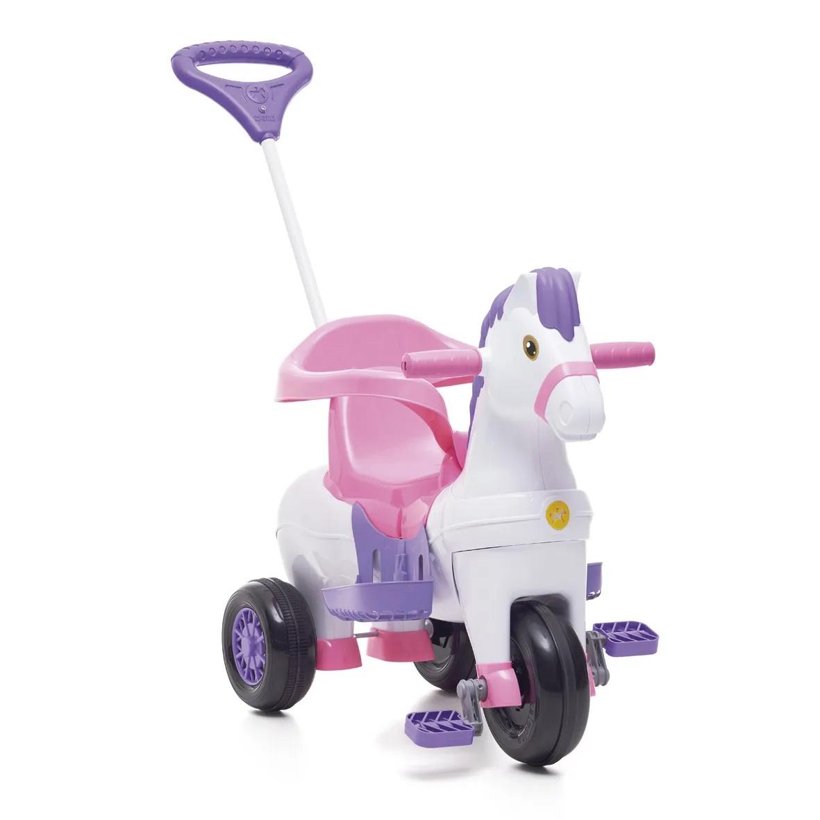 Triciclo Cavalinho Potó rosa