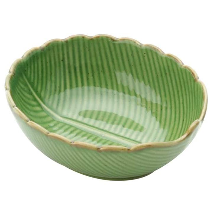 Centro de mesa em cerâmica Banana Leaf Lyor