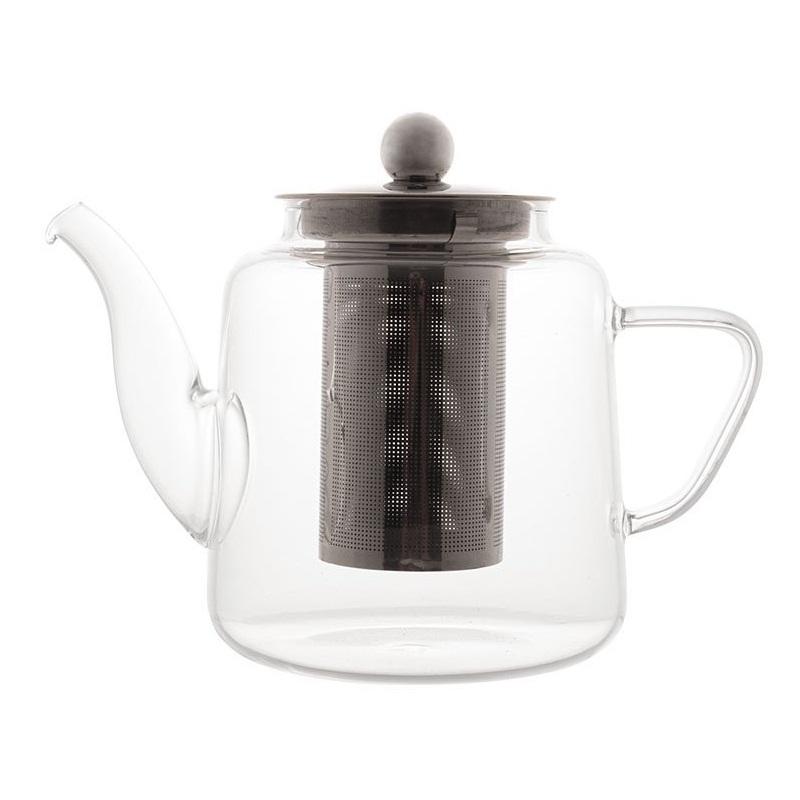 Chaleira de vidro com infusor Lyor 600 ml