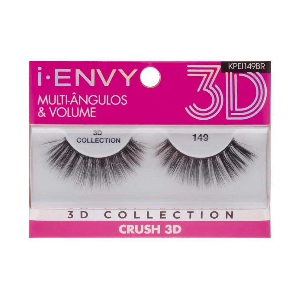 CÍLIOS POSTIÇOS CRUSH 3D I-ENVY KISS NY - 149