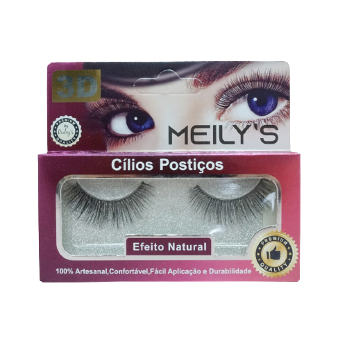 CÍLIOS POSTIÇOS MEILY'S - MCL-3004