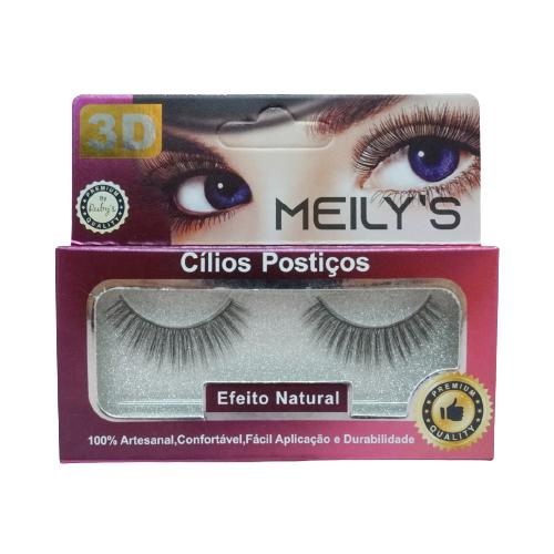 CÍLIOS POSTIÇOS MEILY'S - MCL-3014