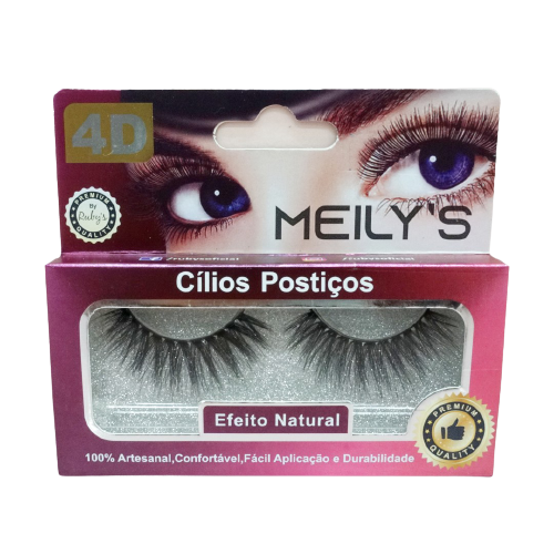 CÍLIOS POSTIÇOS MEILY'S - MCL-4012