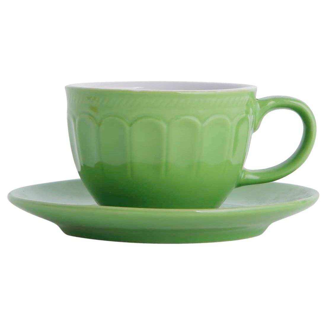 Conjunto 6 xícaras de cerâmica para café Mary 90 ml