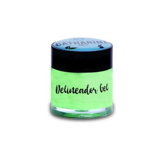 Delineador em gel colorido Catharine Hill - pistachio