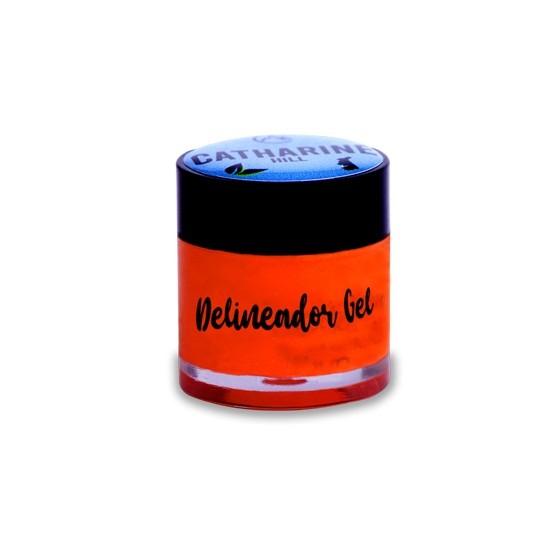 Delineador em gel colorido Catharine Hill - orange