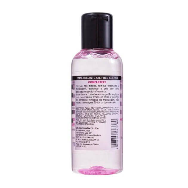 DEMAQUILANTE COMPLETELY OIL FREE KOLOSS
