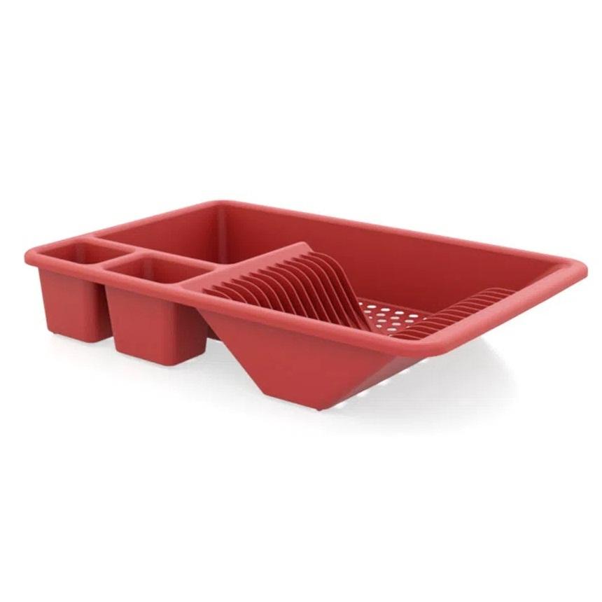 Escorredor de louça Full vermelho