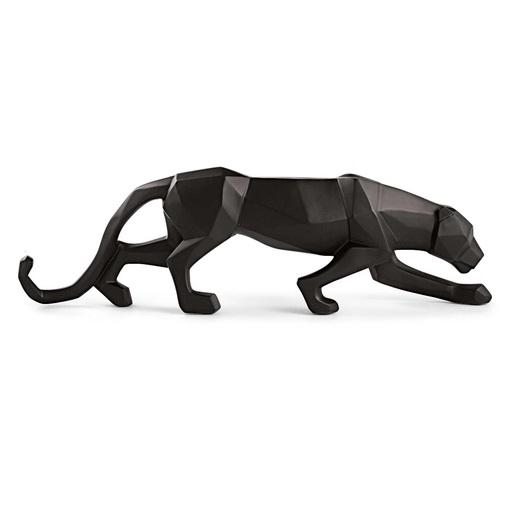 Escultura Leopardo preto