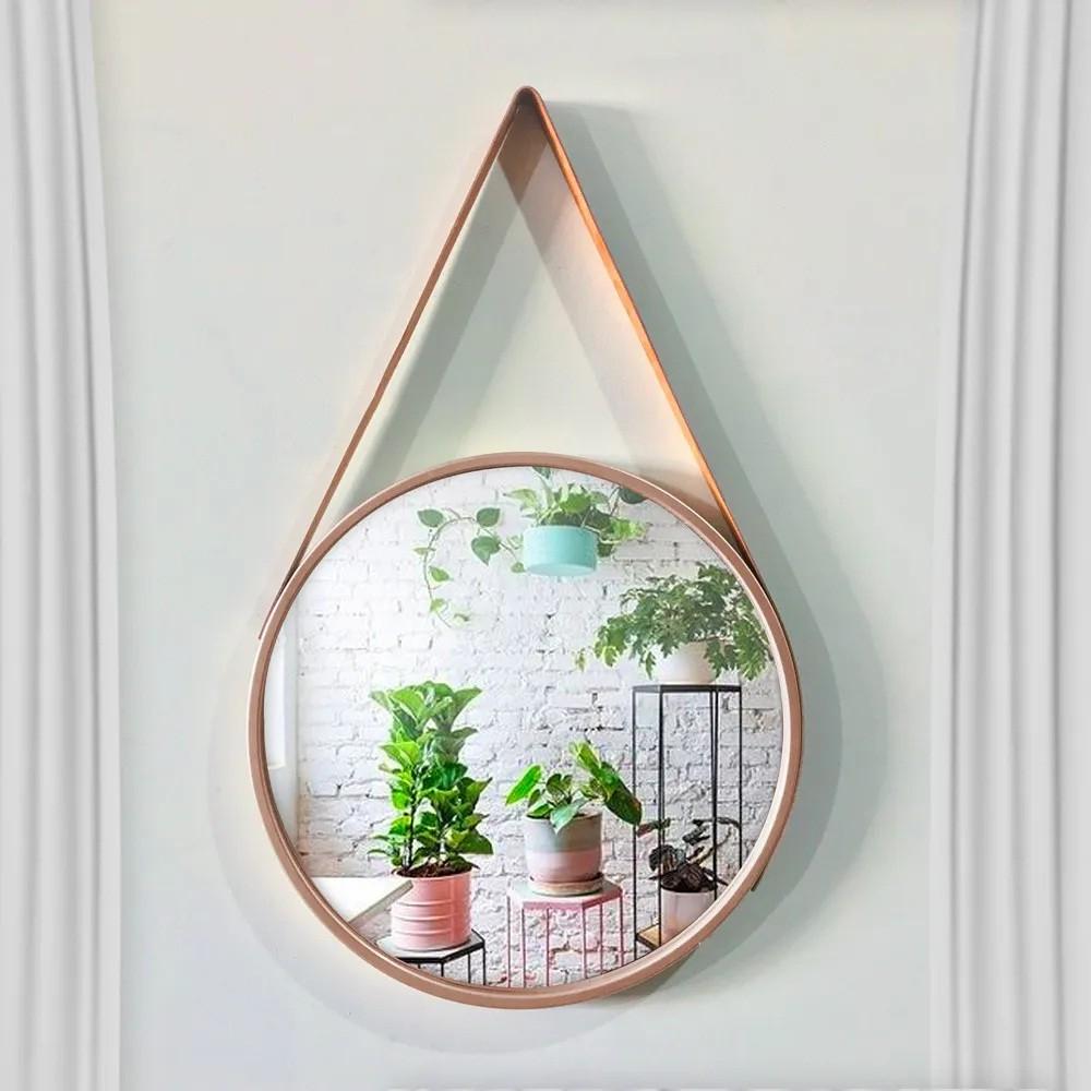 Espelho redondo Adnet 60 cm