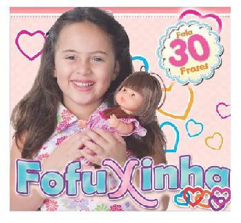 BONECA INFANTIL FOFUXINHA