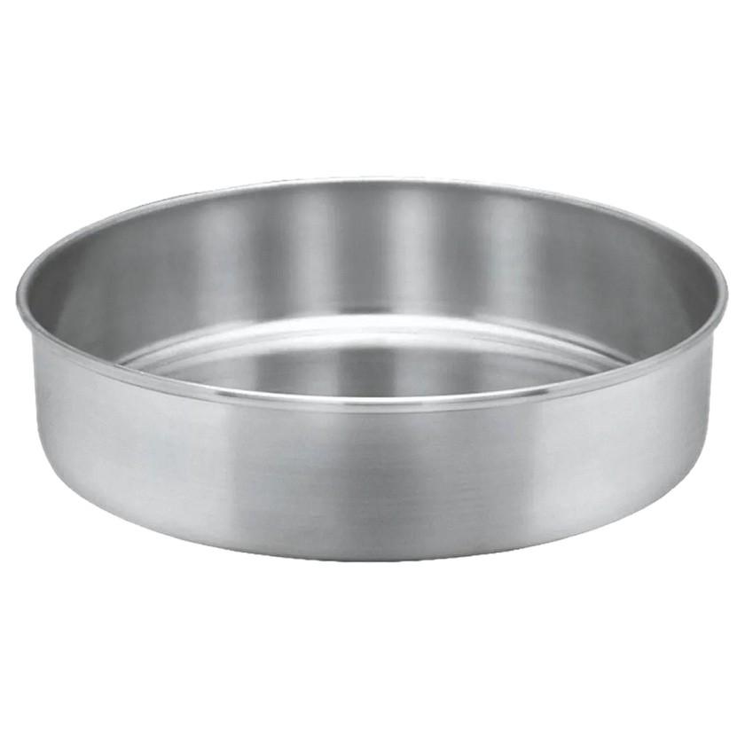 Forma redonda baixa sem furo para bolo 20 cm