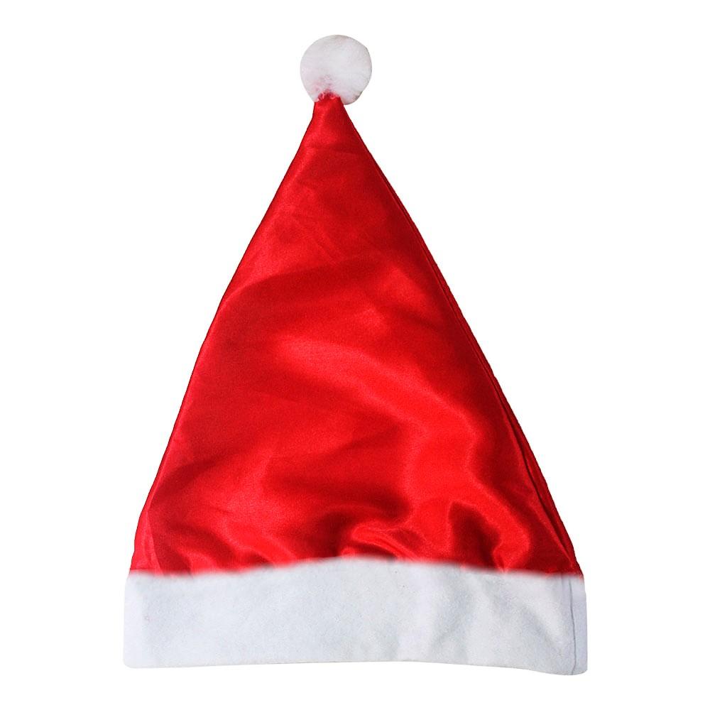 Gorro de Papai Noel metalizado