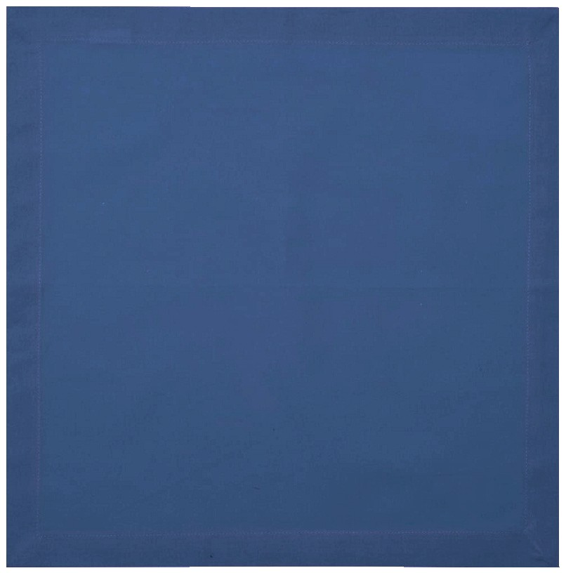 Guardanapos de algodão azul escuro 2 peças
