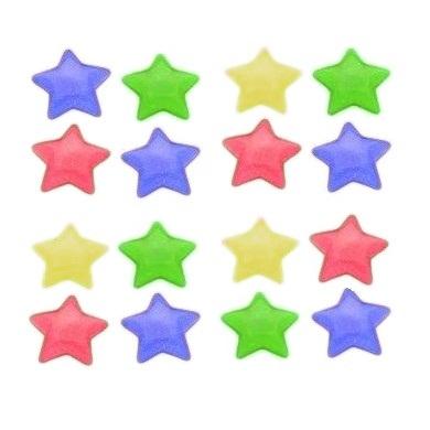 Imã Estrela colorido 6 peças