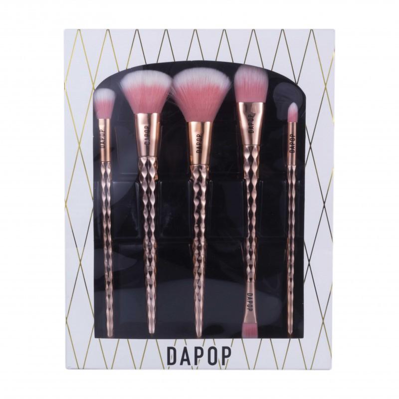 Kit de pinceis Dapop 5 peças