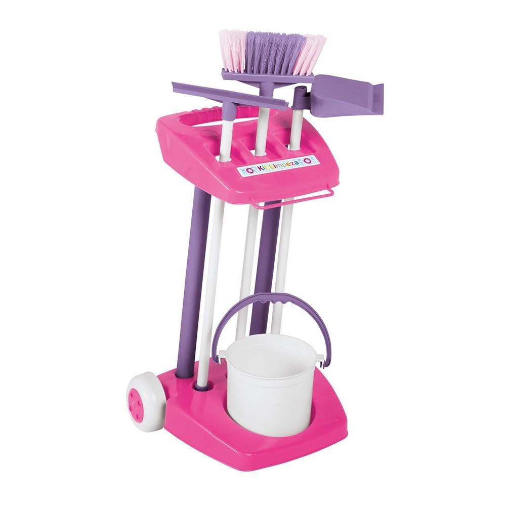Kit de limpeza completo infantil