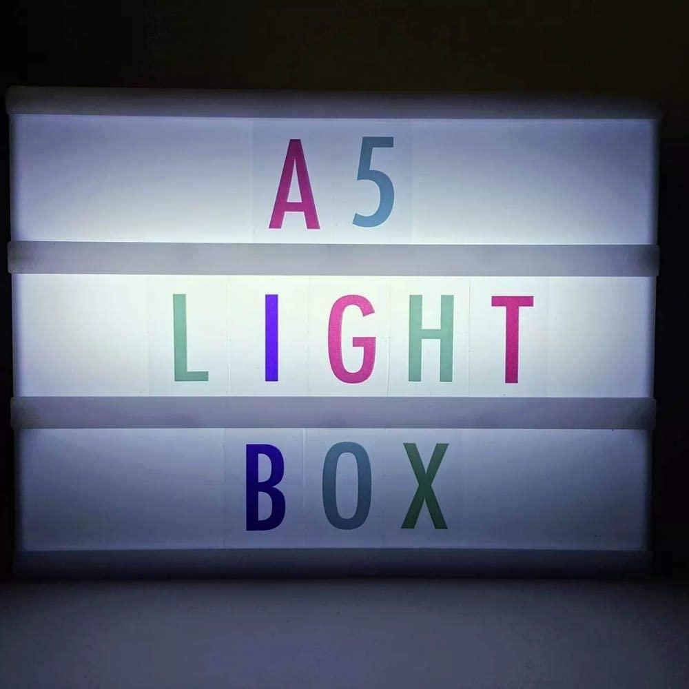 LUMINÁRIA LED LIGHT BOX LETREIRO
