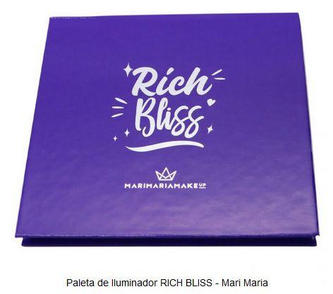 PALETA DE ILUMINADORES RICH BLISS MARI MARIA