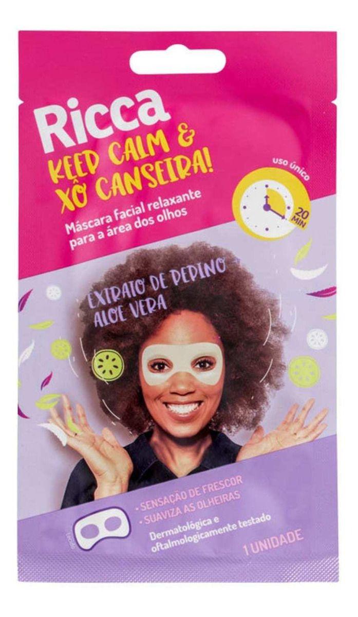 MÁSCARA FACIAL KEEP CALM & XÔ CANSEIRA!