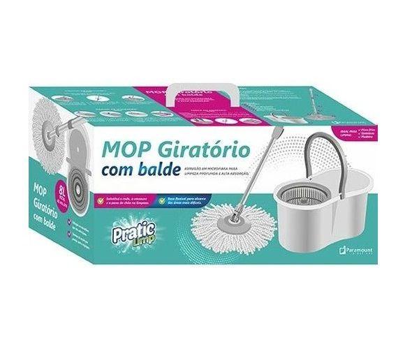 MOP GIRATÓRIO COM BALDE