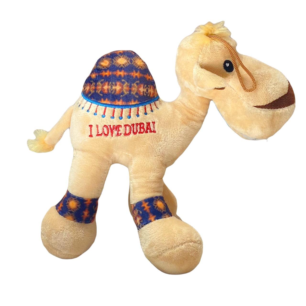 Camelo de pelúcia