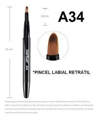 PINCEL LABIAL A34 RETRÁTIL MACRILAN