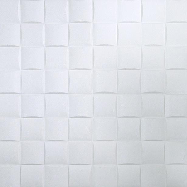 Placa adesiva para parede Quadrados 3D