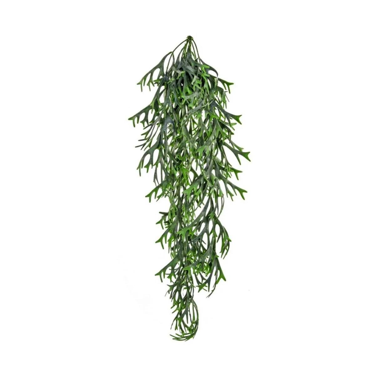 Planta artificial Chifre de Veado pendente 80 cm