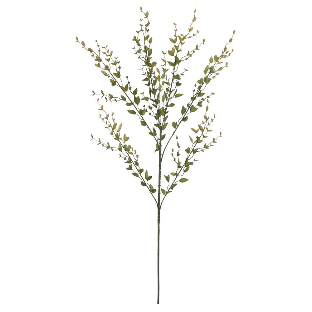 Planta artificial folhagem verde 77 cm