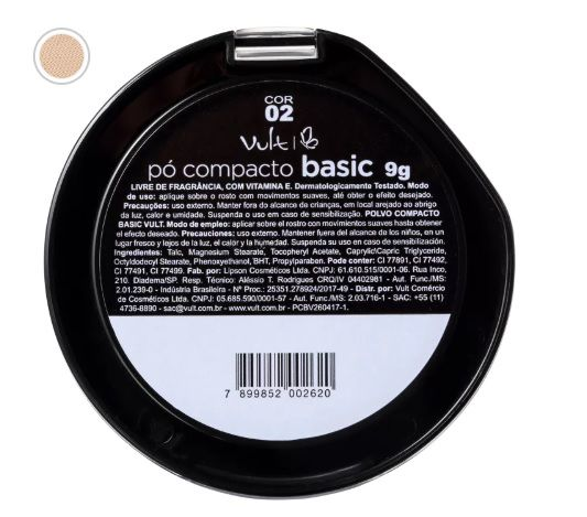 PÓ COMPACTO BASIC 02 VULT