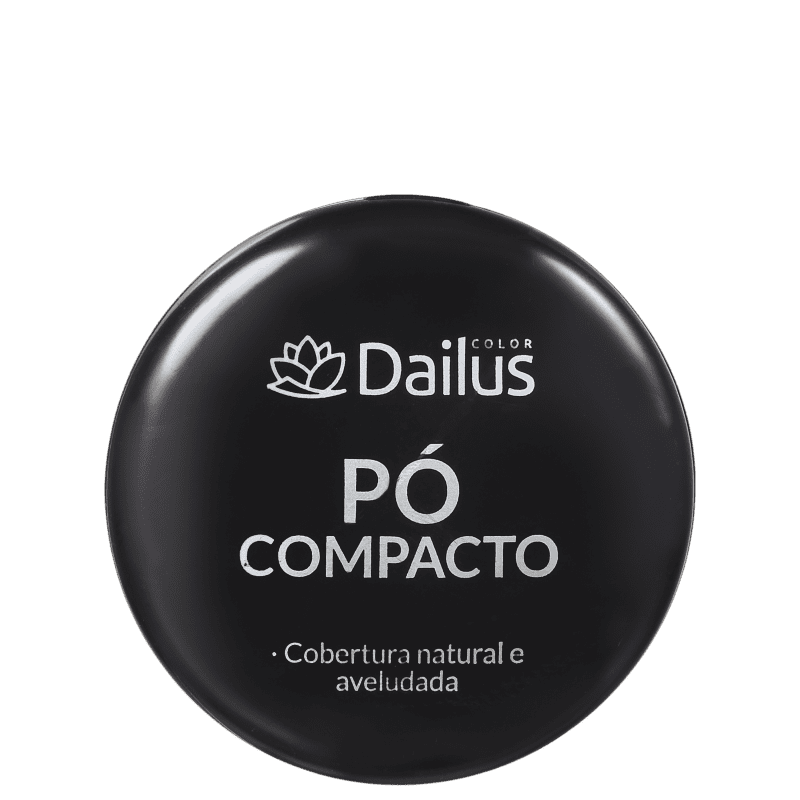 PÓ COMPACTO DAILUS 10 CHOCOLATE