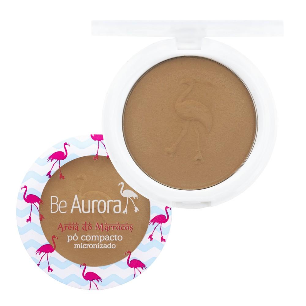 PÓ COMPACTO MICRONIZADO AREIA DO MARROCOS BE AURORA 04