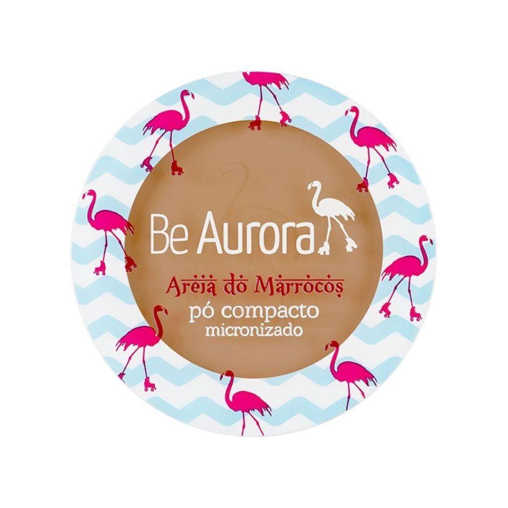 PÓ COMPACTO MICRONIZADO AREIA DO MARROCOS BE AURORA 05